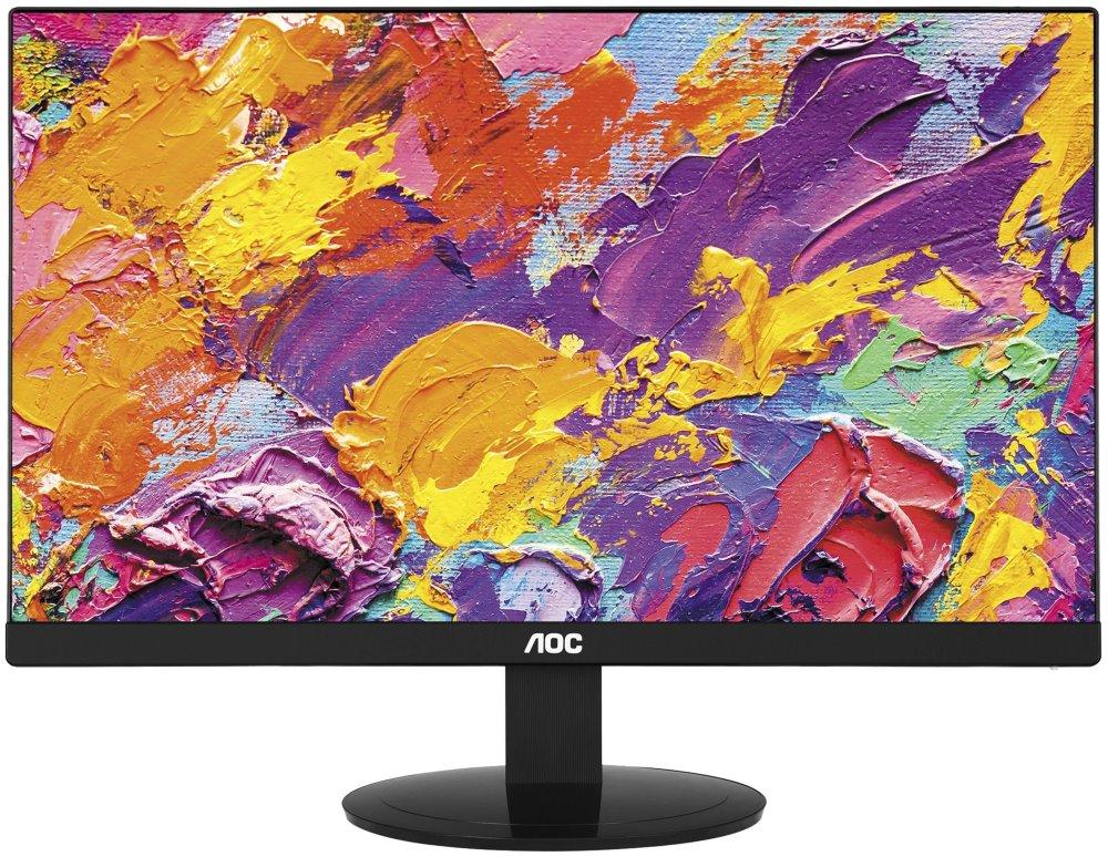 "LED monitor AOC I2480SX 23,8"" LED monitor, 23,8"", IPS, 1920x1080, 1000:1, 5ms, 250cd/m2, VGA, DVI"
