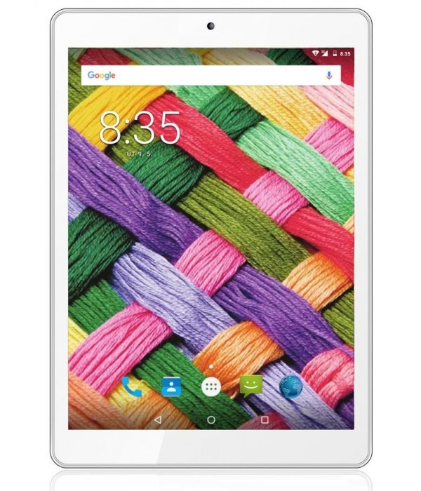 "Tablet UMAX VisionBook 8Qe 3G Tablet, 7,85"", MediaTek MT8321, 1 GB RAM, 16 GB, GPS, micro USB, 3G, Android 7.0, bílý"