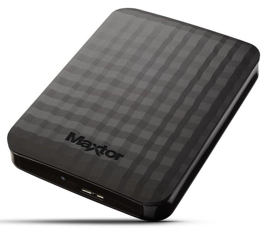 """Pevný disk Maxtor M3 1TB Pevný disk, externí, 1TB, 2,5"""", USB 3.0, černý"""