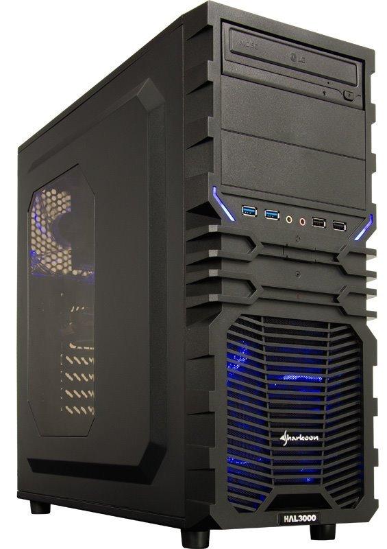 HAL3000 Battlebox Essential 3G by MSI W10