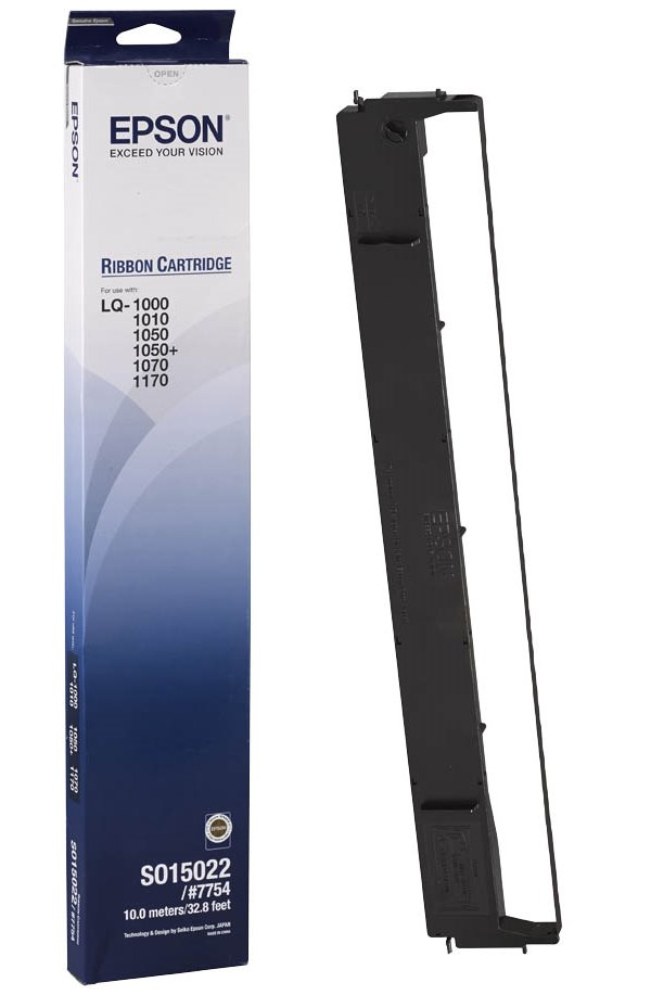 Páska do tiskárny Epson S015022 Páska do tiskárny, pro Epson LQ1000, 1170, 1070, 1010, 1050, černá