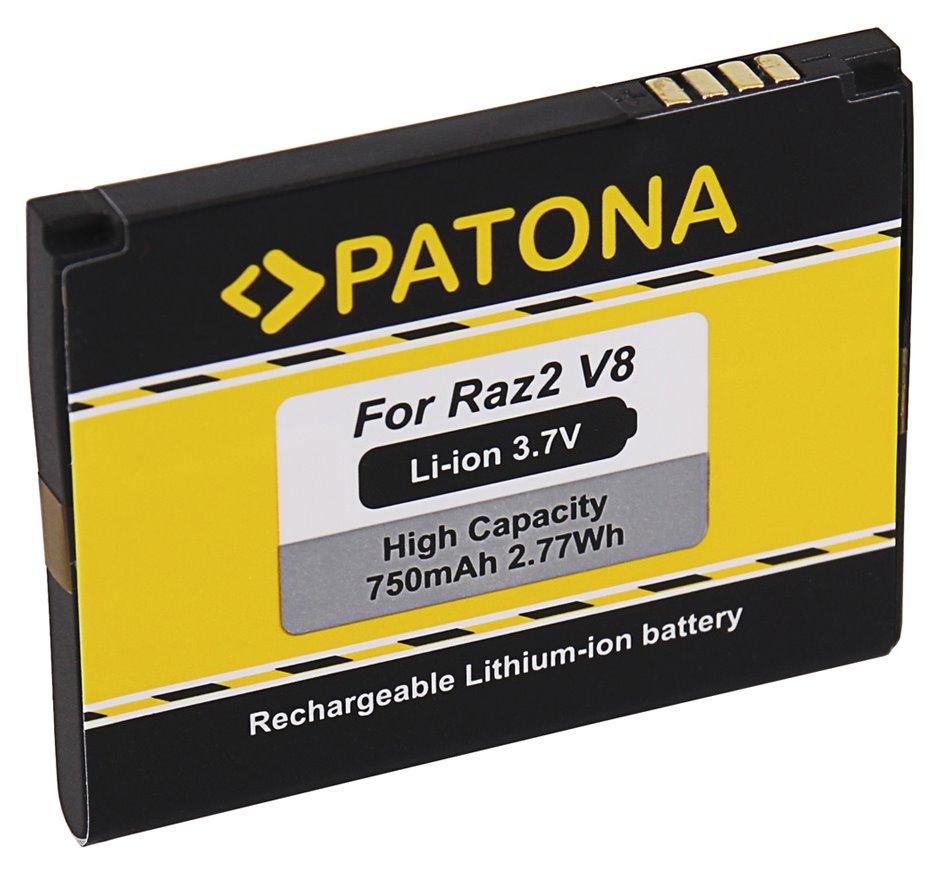 Baterie PATONA pro Motorola 750 mAh Baterie, pro mobilní telefon Motorola Razr V8, 750mAh, 3,7V, Li-Ion, kompatibilní s BX40