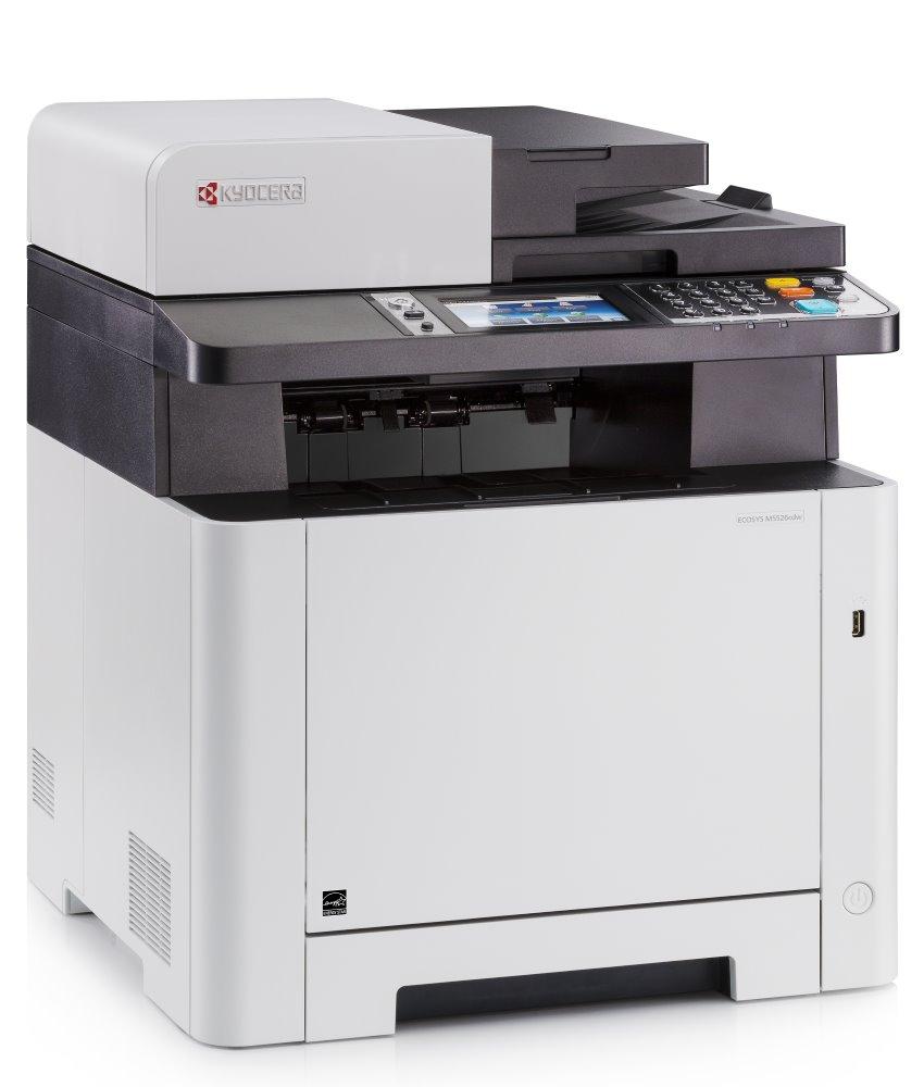 KYOCERA ECOSYS M5526cdw/ A4/ 26ppm/ Duplex/ Fax/ DADF/ LAN/ USB/ Wifi/ LCD dotyk. panel/ start.tonery 1200 stran