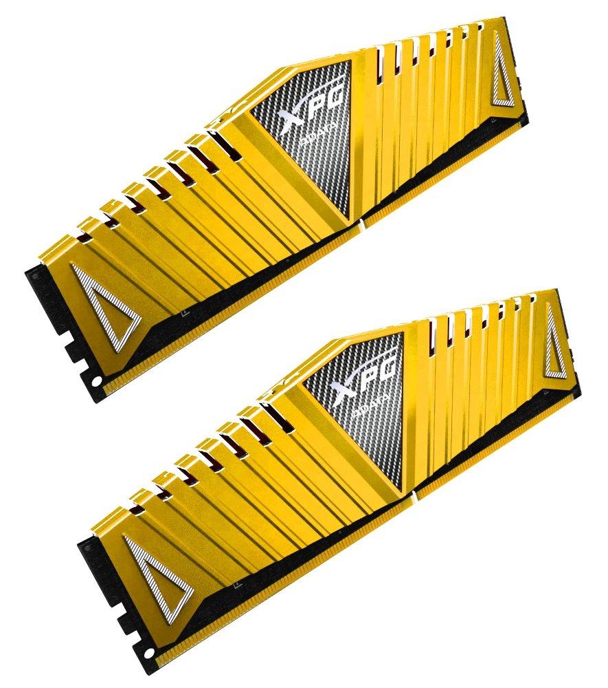 Operační paměť ADATA XPG Z1 8GB 3000MHz Operační paměť, DDR4, 8 GB (2x 4 GB kit), 3000 MHz, DIMM, CL16, zlatá