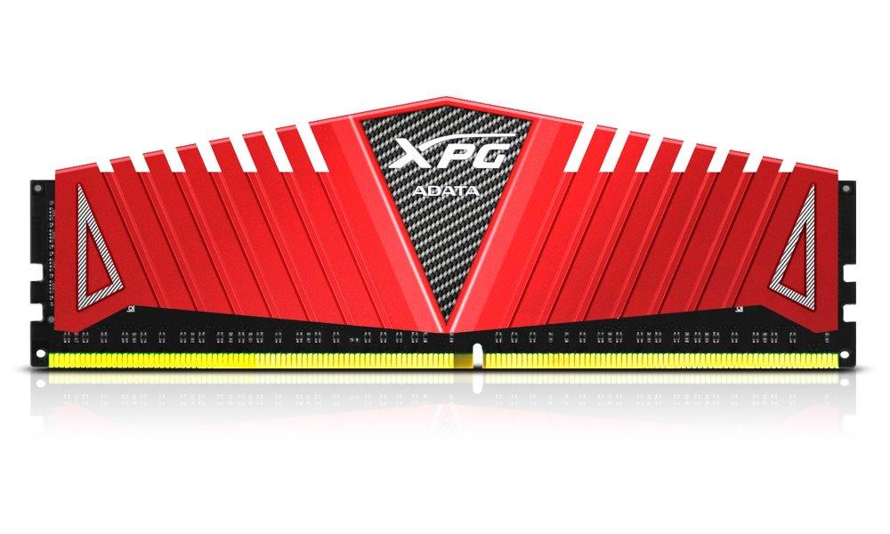 Operační paměť ADATA XPG Z1 8GB 3000MHz Operační paměť, DDR4, 8 GB, 3000 MHz, DIMM, CL16, červená