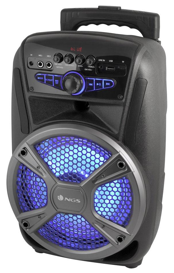 Reproduktor NGS WILD MAMBO Reproduktor, Bluetooth, 35W, USB, FM, SD slot, černý