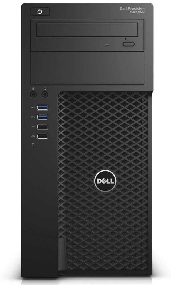 Počítač Dell Precision T3620 Počítač, i7-6700, 16GB, 256GB SSD + 1TB, NVIDIA Quadro P600, W7 Pro (W10 Pro+downgrade), vPro, 3Y PSNBD on-site