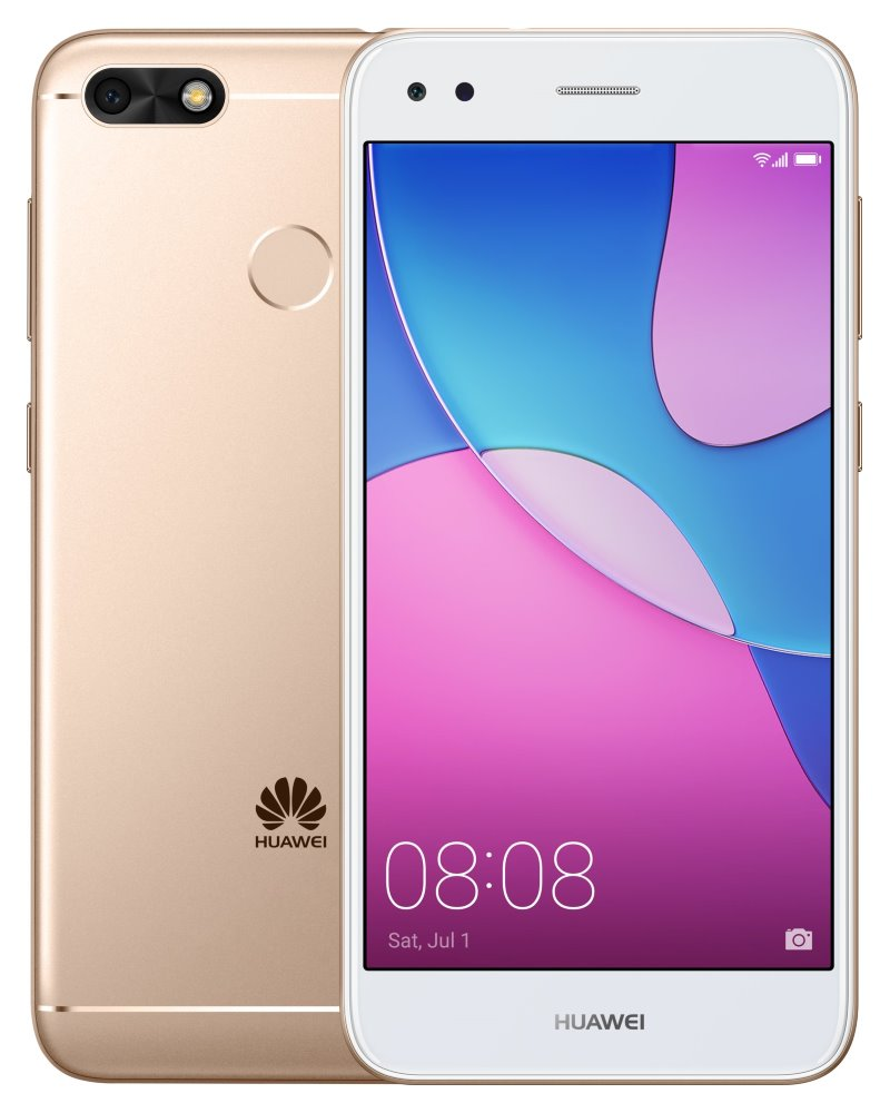 "Mobilní telefon Huawei P9 Lite Mini zlatý Mobilní telefon, Dual SIM, Quad core 1,4GHz, 2GB RAM, 16GB, LTE, 5""  HD, 13MPx + 5MPx, Android 7.0, zlatý"