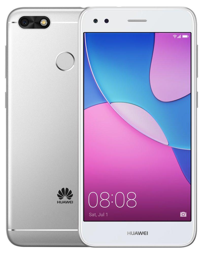 """Mobilní telefon Huawei P9 Lite Mini stříbrný Mobilní telefon, Dual SIM, Quad core 1,4GHz, 2GB RAM, 16GB, LTE, 5""""  HD, 13MPx + 5MPx, Android 7.0, stříbrný"""