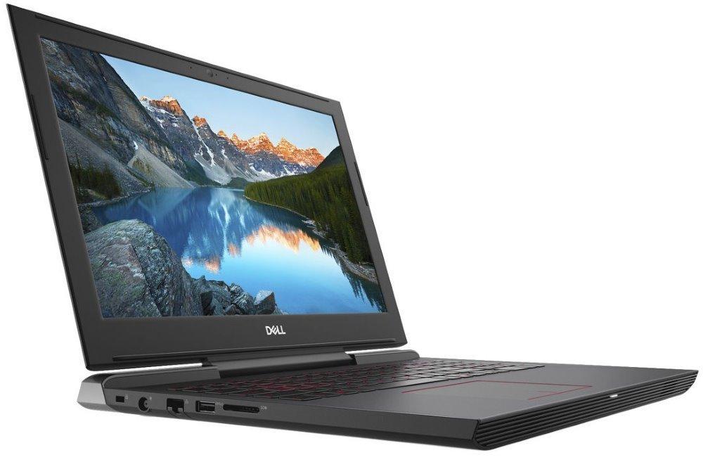 "Notebook Dell Inspiron 15 7000 (7577) Gaming Notebook, i7-7700HQ, 8GB, 128GB SSD + 1TB, NVIDIA GTX 1050 Ti 4GB, 15.6"" Full HD, čtečka otisků prstů, W10Pro, 3YNBD on-site"