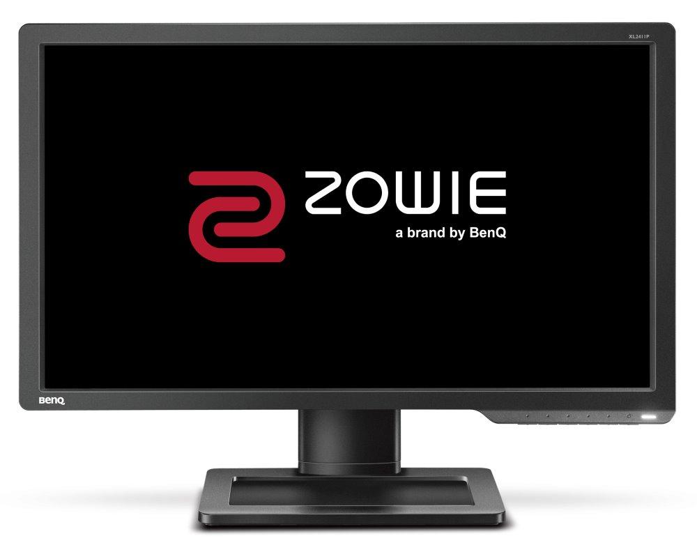 """LED monitor ZOWIE by BenQ XL2411P 24"""" LED monitor, herní, 24"""", 1920x1080, TN, 16:9, 1ms, 12M:1, 350cd/m2, 144Hz, HDMI, DisplayPort, černý"""
