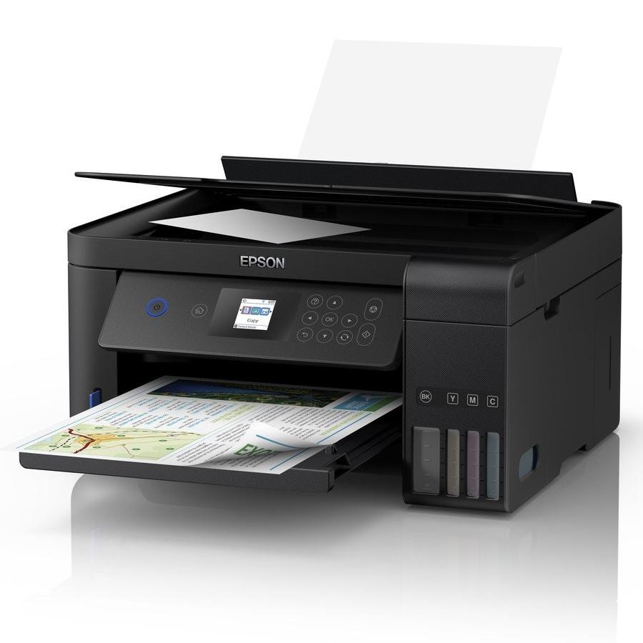 Multifunkční tiskárna Epson EcoTank ITS L4160 Barevná multifunkční inkoustová tiskárna, A4, 5760x1440, LCD, Wi-Fi, USB