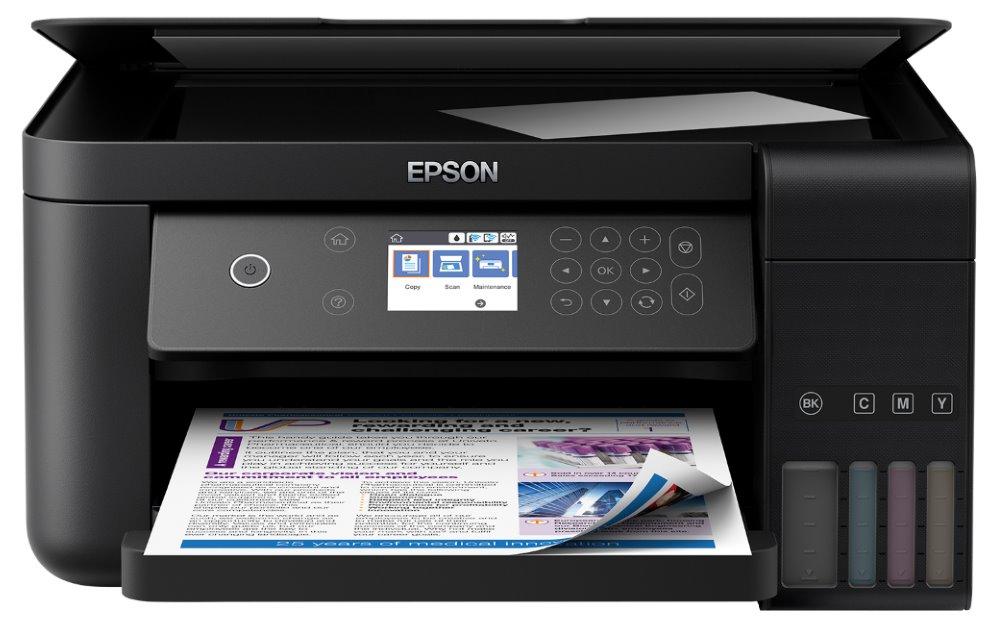 Multifunkční tiskárna Epson EcoTank ITS L6160 Barevná multifunkční inkoustová tiskárna, A4, 4800x1200, LCD, Wi-Fi, USB, LAN
