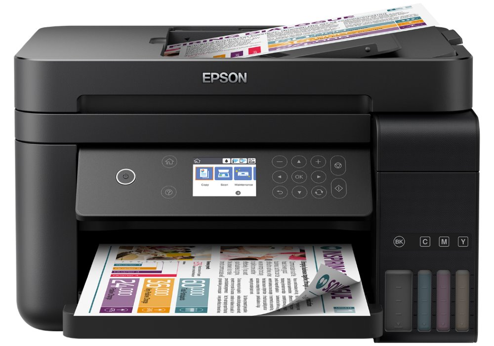 Epson L6170/ 4800 x 1200/ A4/ MFZ/ LCD/ ITS/ ADF/ Duplex/ 4 barvy/ Wi-Fi/ USB/ 3 roky záruka po registraci