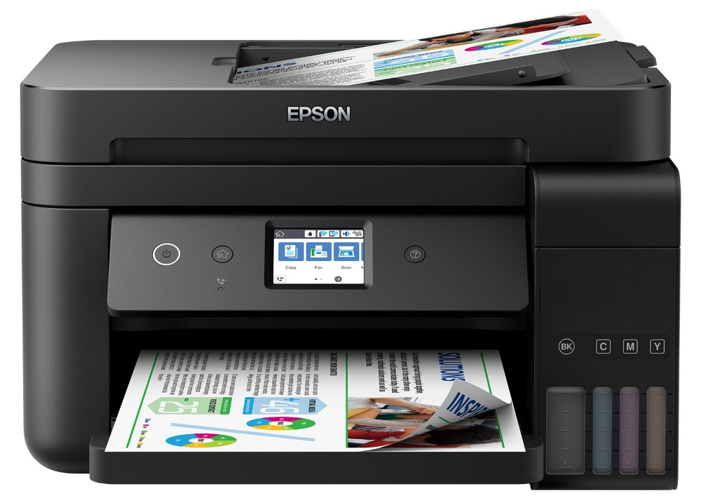 Epson L6190/ 4800 x 1200/ A4/ MFZ/ LCD/ ITS/ ADF/ Duplex/ Fax/ 4 barvy/ Wi-Fi/ USB/ 3 roky záruka po registraci