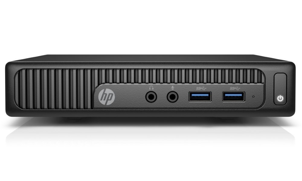 Počítač HP 260 G2 DM Počítač, Intel Core i3-6100U, 4GB DDR4, 500GB, Intel HD 520, W10 Pro