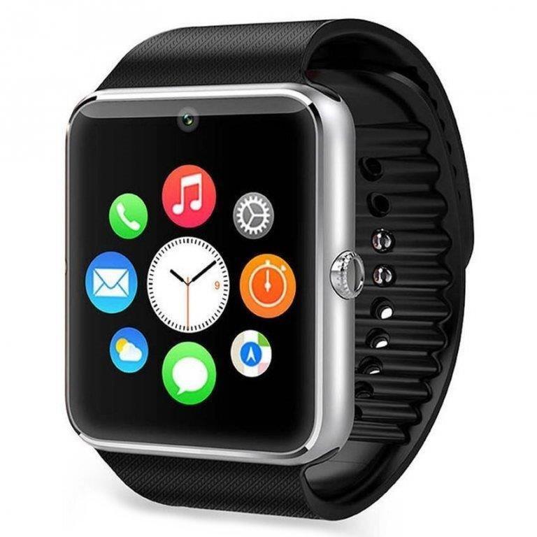 """Chytré hodinky IMMAX SW6 stříbrné Chytré hodinky, 1.54"""" LCD,MT6260A, 128 MB RAM, 64 MB interní paměť, micro SIM, Bluetooth, česká lokalizace, stříbrné"""