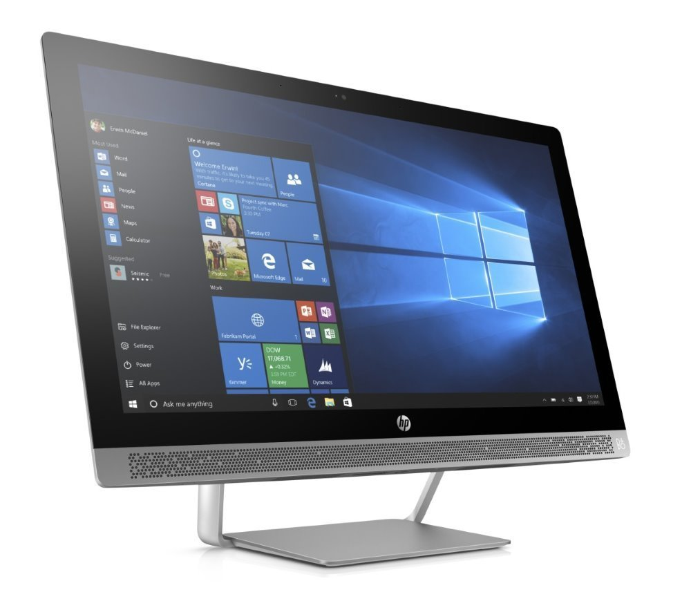 """All-in-one počítač HP ProOne 440 G3 All-in-one počítač, 23,8"""" FHD IPS, i5-7500T, 8GB, 256GB SSD, Intel HD 630, DVD-RW/ Wi-Fi, Win 10 Pro"""