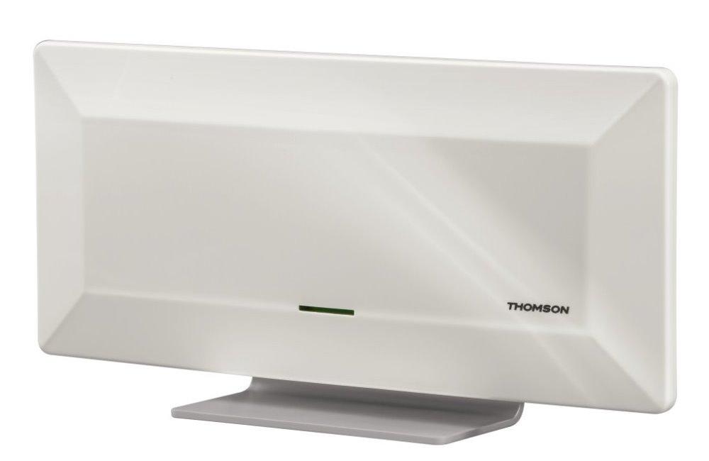 DVB-T anténa Thomson ANT1415 DVB-T anténa, pokojová, aktivní, 44dB, 30 až 950 MHz, bílá