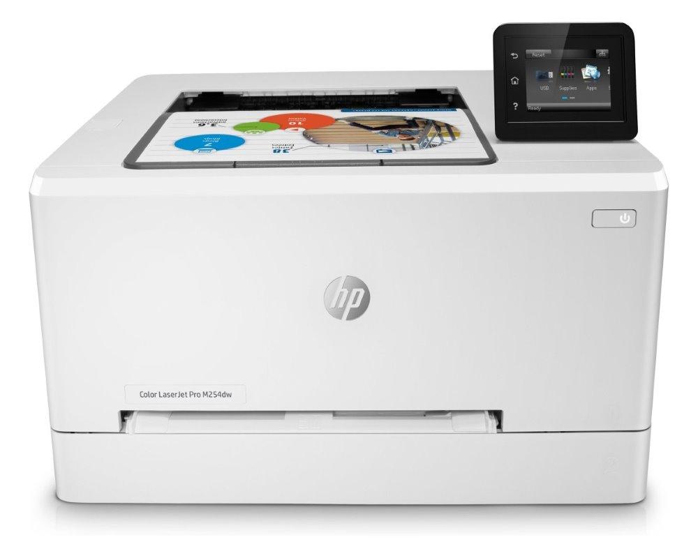 """HP Color LaserJet Pro M254dw/ A4/ 21ppm/ 600x600dpi/ 2,7"""" LCD Touch/ USB/ LAN/ WiFi/ duplex/ ePrint/ AirPrint"""