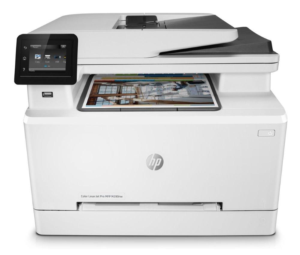 HP Color LaserJet Pro M280nw MFP/ A4/ 21ppm/ print+scan+copy/ 600x600dpi/ USB/ LAN/ WiFi/ ADF