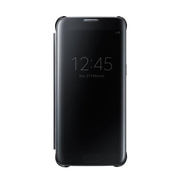 Pouzdro Samsung Clear View Cover pro Galaxy S7 Pouzdro, flipové, pro mobilní telefon Samsung Galaxy S7, černé