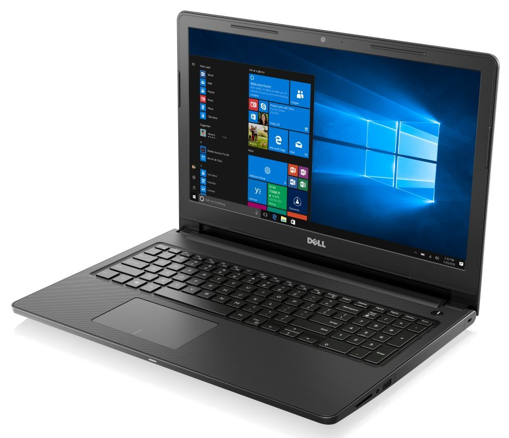 "Notebook Dell Inspiron 15 3000 (3567) Notebook, i5-7200U, 4GB, 1TB, DVDRW, 15.6"" Full HD, W10, šedý, 2YNBD on-site"