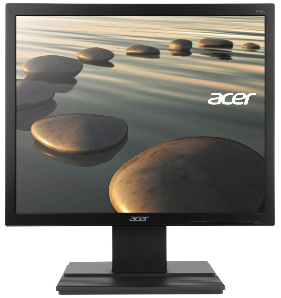 "LED monitor Acer V196LBb 19"" LED monitor, 19"", 1280x1024, IPS, 5:4, 100M:1, 6ms, 250 cd/m2, VGA, TCO 7.0, černý"
