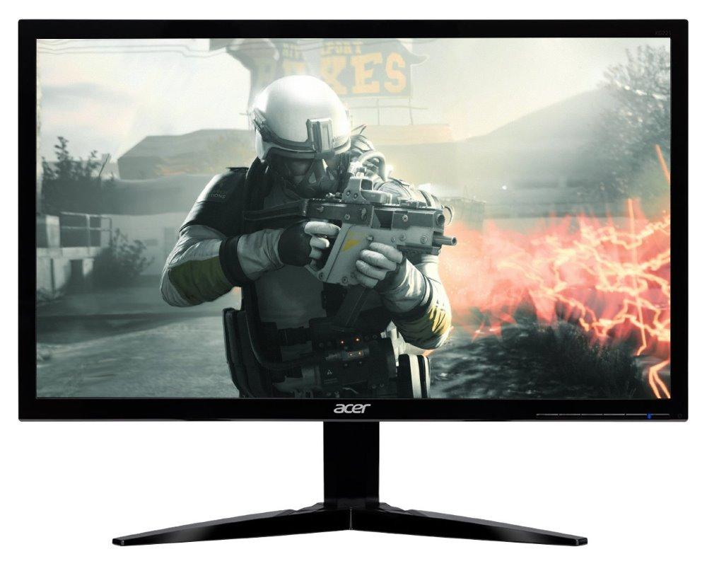 "LED monitor Acer KG241Qbmiix 23,6"" LED monitor, 23,6"", 1920x1080, TN, 16:9, 100M:1, 1ms, 300cd/m2, VGA, HDMI, reproduktory, černý"