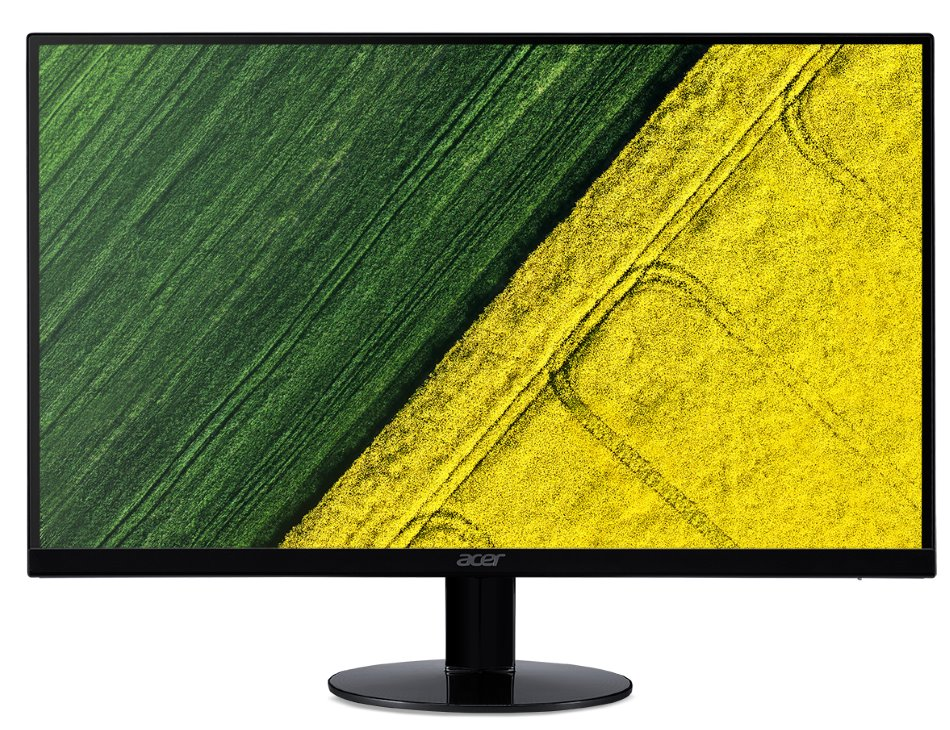 "LED monitor Acer SA240Ybid 21,5"" LED monitor, 23,8"", 1920x1080, IPS, 16:9, 100M:1, 4ms, 250 cd/m2, VGA, DVI, HDMI, černý"