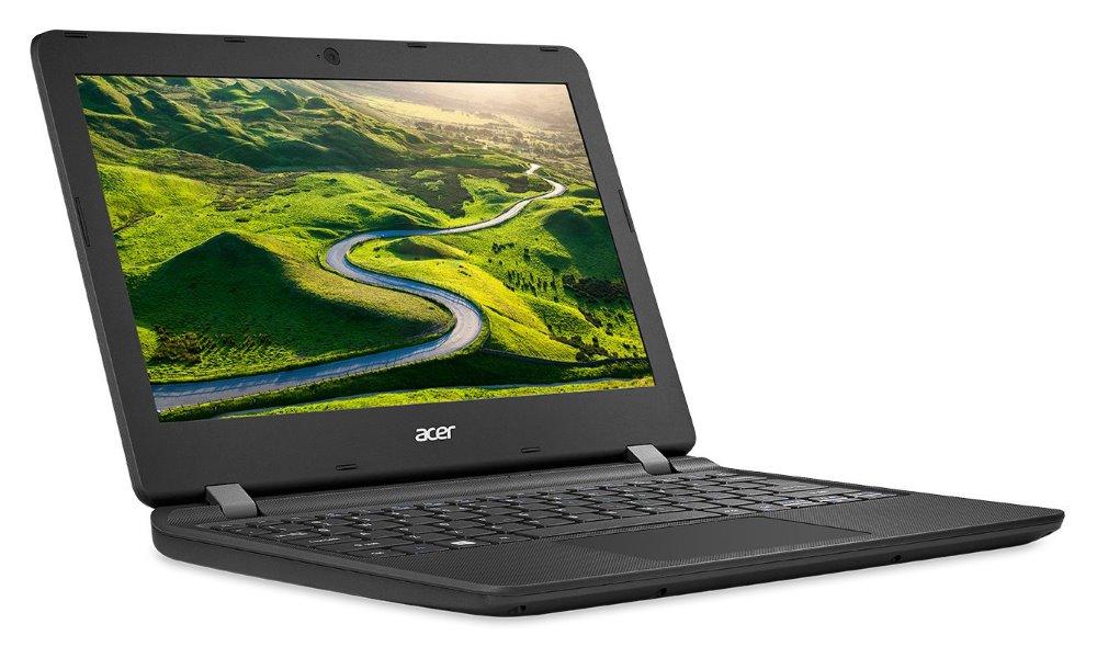 """Notebook Acer Aspire ES 11 (ES1-132-C92R) Notebook, N3350, 2GB, eMMC 32GB, Intel HD, 11,6"""" HD matný, W10H, černý"""
