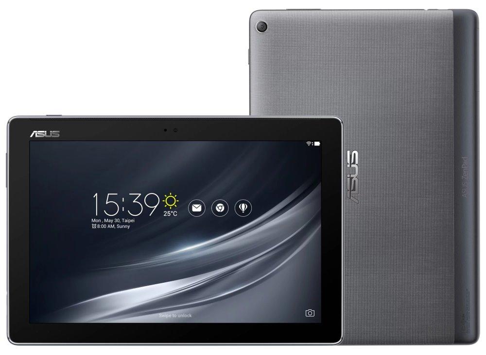 "Tablet ASUS ZenPad 10 (Z301MF-1H007A) Tablet, 10,1"", MTK8163A, 2GB RAM, 32GB, GPS, Bluetooth 4.2, Wi-Fi, USB typ C, Android 7.0, šedý"