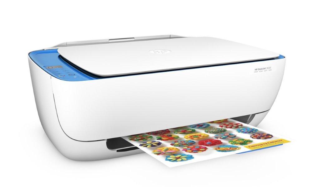 HP All-in-One Deskjet 3639/ A4/ 8,5/6ppm/ print+scan+copy/ až 1200x1200 dpi/ USB/ WiFi