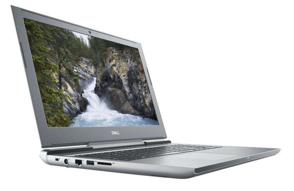 "Notebook Dell Vostro 15 7000 (7570) Notebook, i5-7300HQ, 8GB, 128GB SSD + 1TB, NVIDIA GTX 1060 6GB, 15.6"" FHD, W10Pro, šedý, 3YNBD on-site"