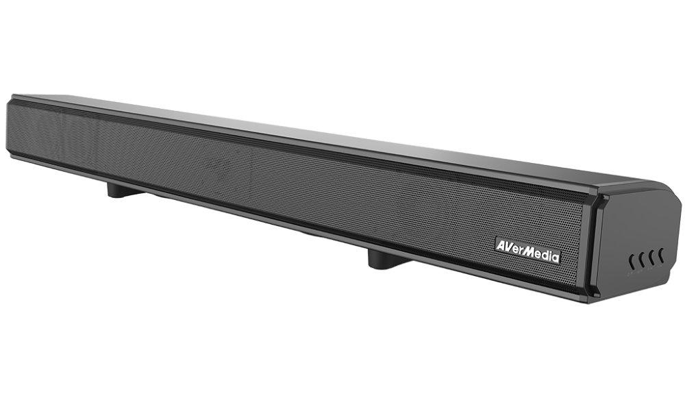 Reproduktory AVerMedia GS333 Reproduktory, 2.1, soundbar, 60W, dálkové ovládání, Bluetooth, USB, ekvalizér, černý