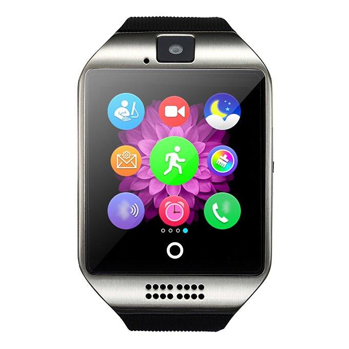 """Chytré hodinky IMMAX SW7 stříbrné Chytré hodinky, 1.56"""" LCD,MT6260, 128 MB RAM, 64 MB interní paměť, micro SIM, Bluetooth, česká lokalizace, stříbrné"""