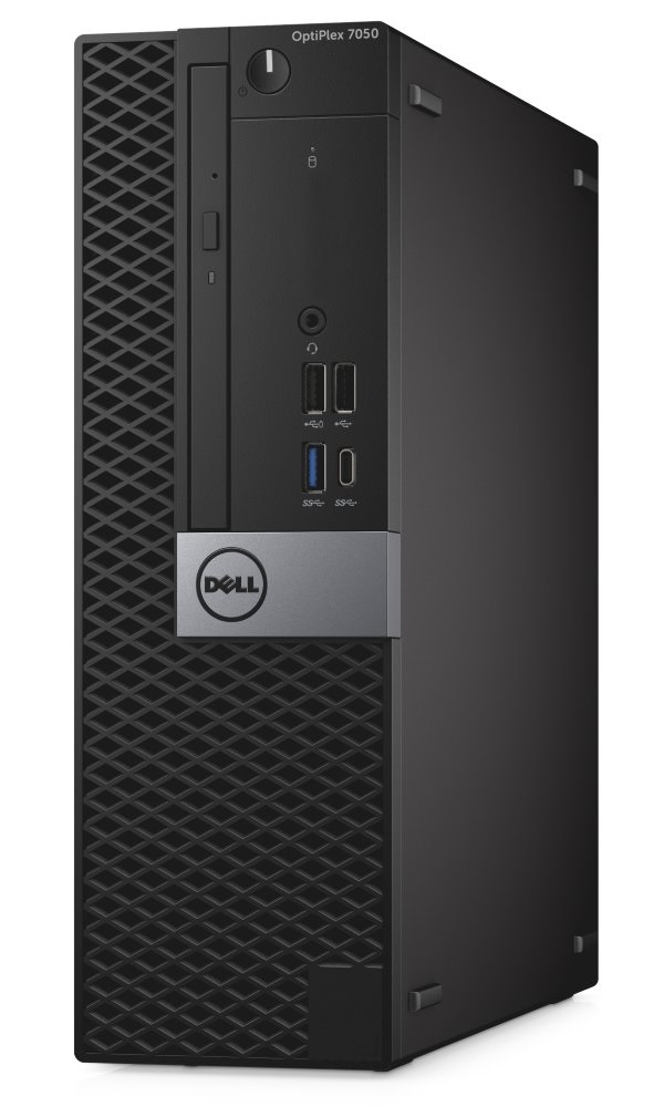 Počítač Dell OptiPlex 7050 SFF Počítač, i7-7700, 8GB, 1TB (7200), DVD-RW, W10Pro, vPro, 3YNBD on-site