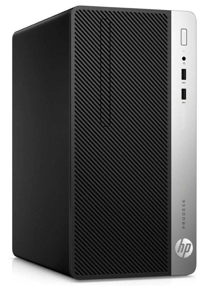 Počítač HP ProDesk 400 G4 MT Počítač, i3-7100, 8GB, 256GB SSD, Intel HD 630, DVD-RW, bez Wi-Fi, FDOS, USB klávesnice a myš