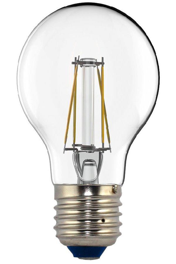 LED žárovka TESLA CRYSTAL RETRO BULB E27 4W LED žárovka, E27, 230V, 4W, teplá bílá, 440lm, 2700K