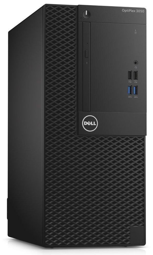 Počítač Dell OptiPlex 3050 MT Počítač, i5-7500, 4GB, 500GB 7200 ot., DVDRW, W10Pro, 3YNBD on-site