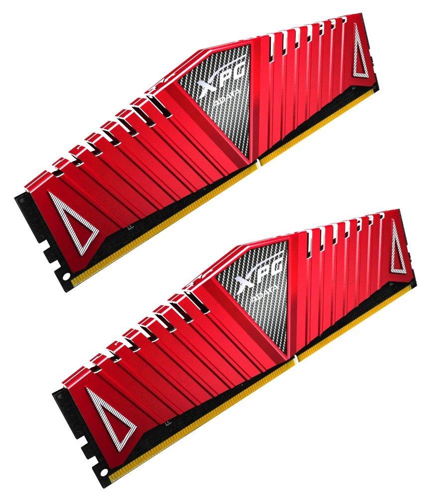 Operační paměť ADATA XPG Z1 32GB 3000MHz Operační paměť, DDR4, 32GB (2x 16GB kit), 3000MHz, DIMM, CL16, červená