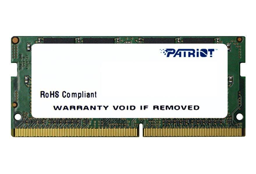Operační paměť Patriot Signature DDR4 8GB 2133MHz Operační paměť, DDR4, 8GB, 2133MHz, SO-DIMM, CL15, 1,2V