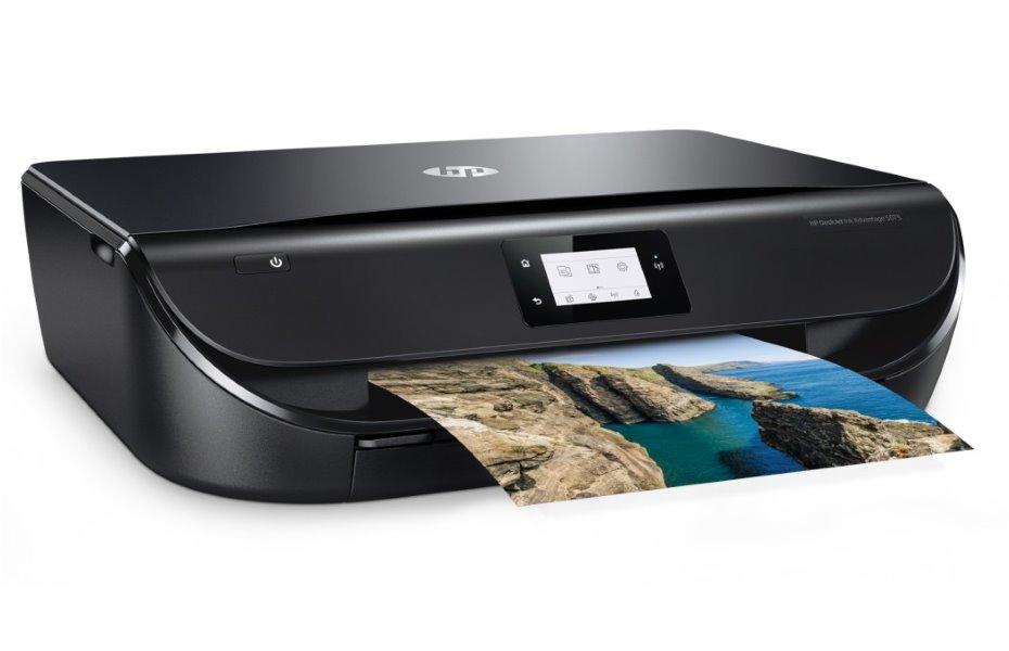 HP All-in-One Deskjet Ink Advantage 5075/ A4/ 20/17ppm/ print+scan+copy USB/ Wifi/ Duplex