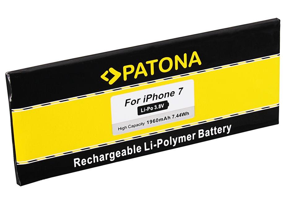 Baterie PATONA pro Apple iPhone 7 1960mAh Baterie, pro mobilní telefon, 1960mAh, 3,8V, Li-Pol, pro Apple iPhone 7