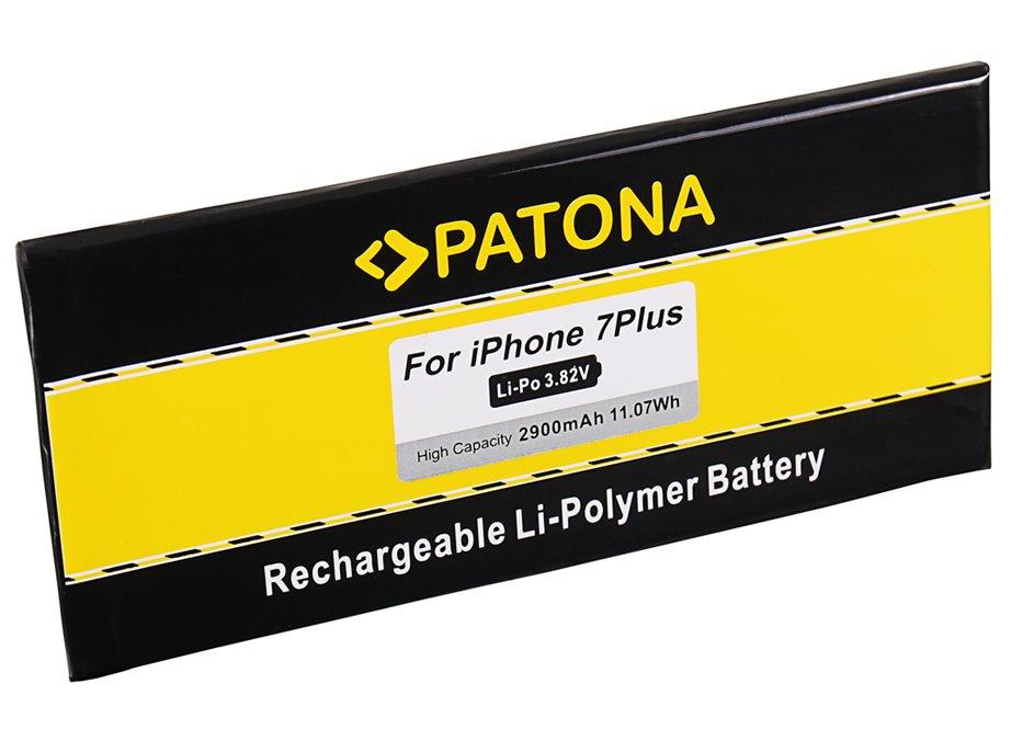 Baterie PATONA pro Apple iPhone 7 Plus 2900mAh Baterie, pro mobilní telefon, 2900mAh, 3,82V, Li-Pol, pro Apple iPhone 7 Plus, s nářadím