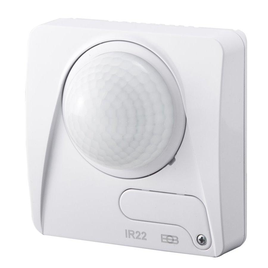 Detektor ELEKTROBOCK IR22A Detektor, snímač pohybu, univerzální, detekční vzdálenost 10m, vnitřní, detekční úhel 360°, bílý