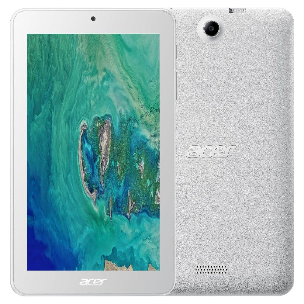 "Tablet Acer Iconia One 7 (B1-7A0-K9Q6) Tablet, 7"", MTK MT8167B, 1GB RAM, 16GB eMMC, Bluetooth, Android 7.0, bílý"