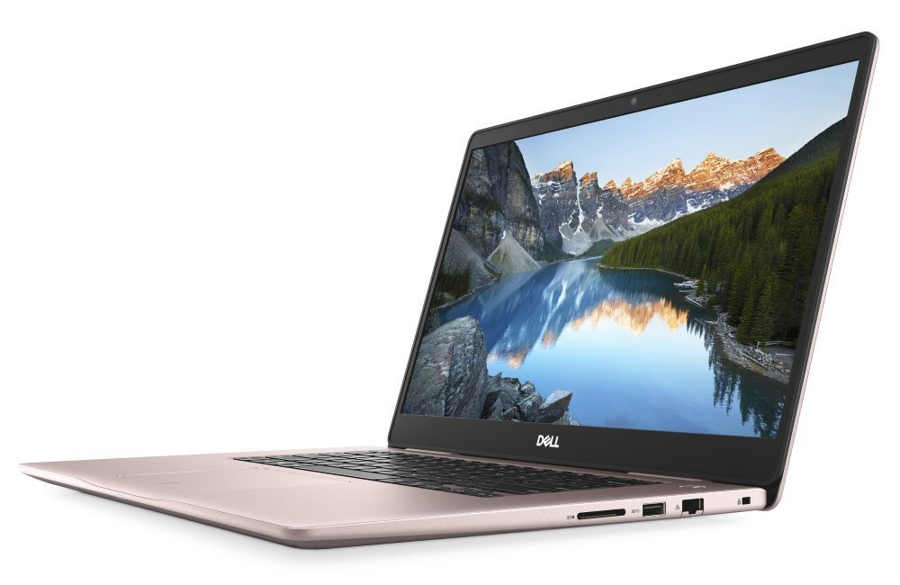 "Notebook Dell Inspiron 15 7000 (7570) Notebook, i5-8250U, 8GB, 256GB SSD, NVIDIA GeForce MX130 4GB, 15.6"" Full HD, W10, růžový, 2YNBD on-site"