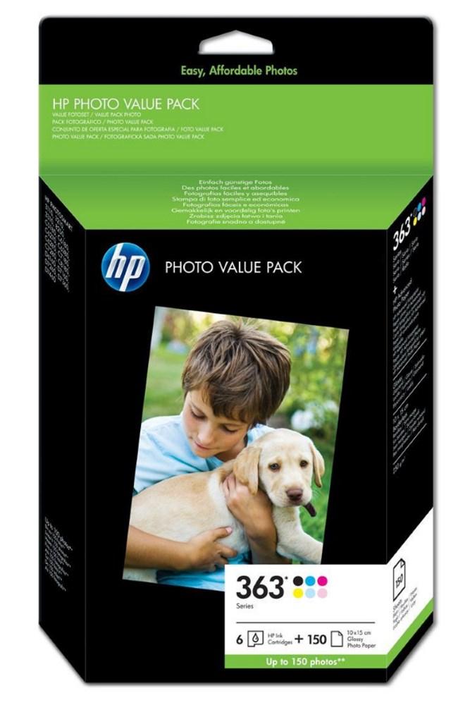 Fotografická sada HP HP 363 Series Photo Pack Q7966EE