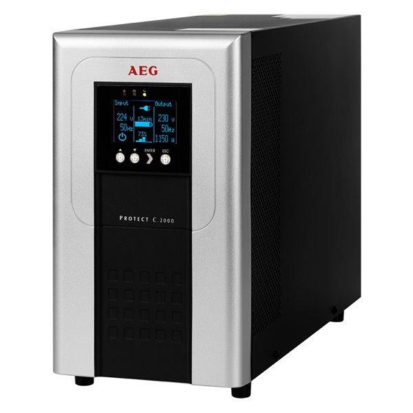 Akce !AEG UPS Protect C.2000/ 2000VA/ 1600W/ 230V/ online UPS, model 2014